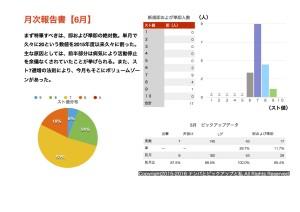 (2016.6)月次報告書